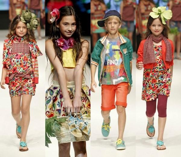 moda primavera verano niños