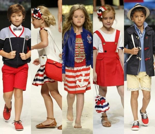 primavera verano ropa niños