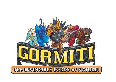 Logo de Gormitis, Los Invencibles Se�ores de la Naturaleza
