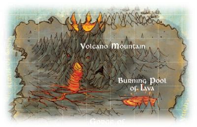 El volcan de la Isla de Gorm