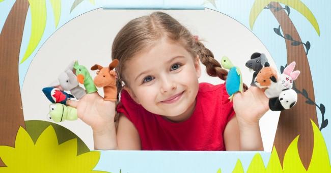Marionetas con nuestros hijos
