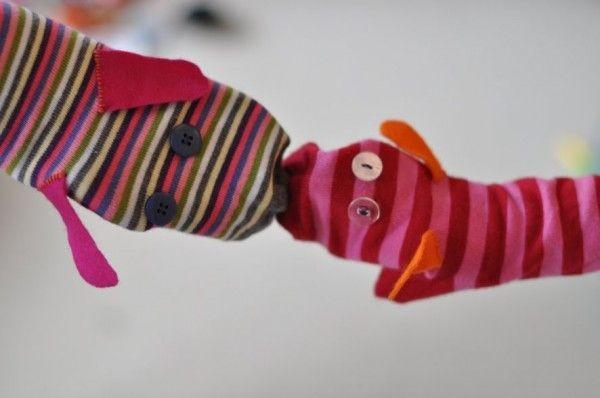 marionetas calcetin sencilla