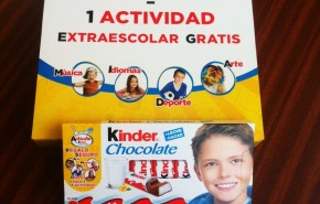 Actividad extraescolar gratuita con Kinder Chocolate